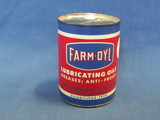 Farm Oyl Metal Can Bank