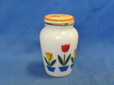 Fire King Tulip Pepper Shaker