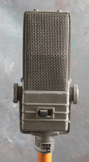Vintage Electro-Voice Model V1 Microphone with Home Made Stand