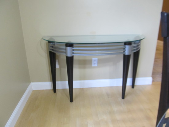 Matching Glass side Table