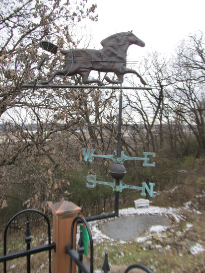 Copper Horse Weather Vane