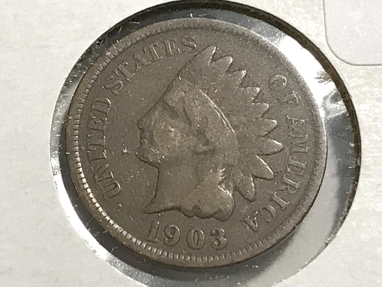 1903 Indian Head Penny