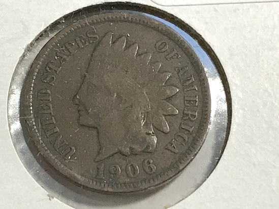 1906 Indian Head Penny