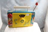 Vintage Fisher Price TV-RADIO Toy The Farmer in the Dell Music