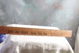 Vintage Wood Advertising Ruler STATE and TORIUM Movie Theatre Spring Valley