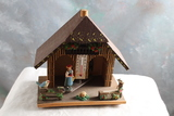 Authentic German Black Forest Weather Station Measures 5 1/2