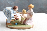 1985 Norman Rockwell BABY'S FIRST STEPS Figurine 6