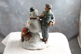 Norman Rockwell 1969 Four Seasons Illustrations Figurine WINTER 9
