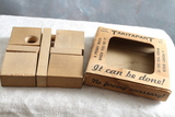 1942 TAKITAPART Skill Wooden Puzzle with 1942 Wheat Penny Inside Orig Box