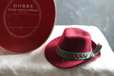 Vintage Sample DOBBS Fifth Avenue Hats New York & Hat Box