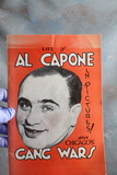 1982 LIFE OF AL CAPONE AND CHCAGO'S GANG WARS Book in Pictures