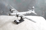 Diecast B-29 Enola Gay  Propeller Plane on Stand Measures 8
