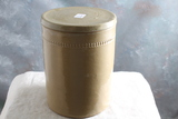 Vintage 2 lb. Stoneware Butter Crock with Lid 5 3/4