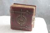 Antique Photo Album with Antique Calling Cards Included