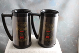 2 Vintage Michelob Beer Thermo Mugs by West Bend 6 1/2