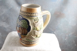 1983 Old Style Handcrafted & Numbered Beer Stein Drink with Style