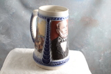 1997 GERZ Strohs Beer Stein COA Ltd. Edition The Stroh's Family Series