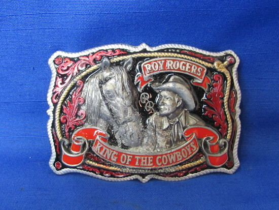 1993 Roy Rogers King of the Cowboys Belt Buckle – Limited Edition No. 1457