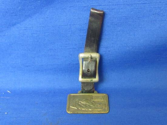 Garwood Buckeye Trencher Watch Fob