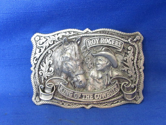 1993 Roy Rogers King of the Cowboys Belt Buckle – Limited Edition No. 1193