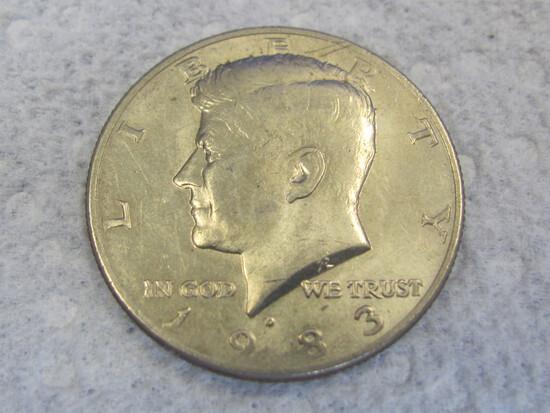1983-D Kennedy Half Dollar