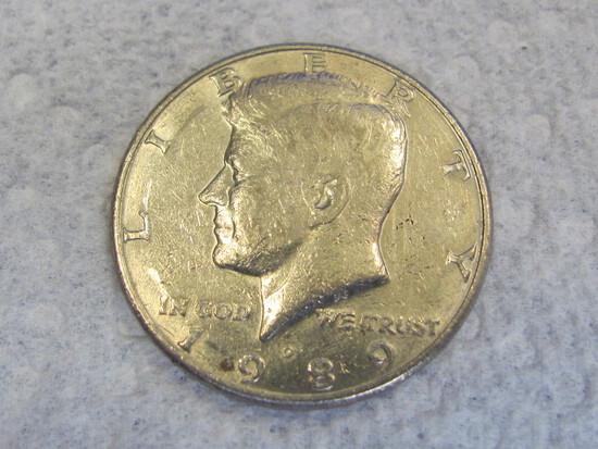 1989-D Kennedy Half Dollar