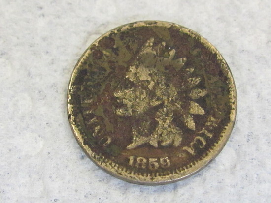 1859 Indian Head Penny/Cent
