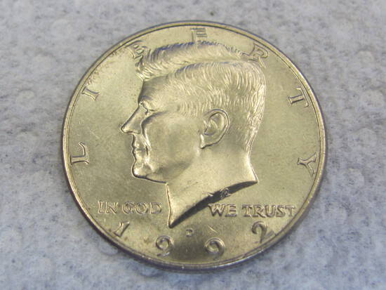 1992-D Kennedy Half Dollar