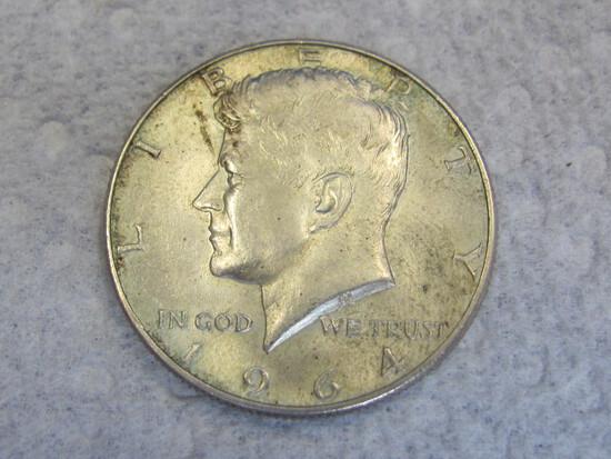 1964-D Kennedy Half Dollar – 90% Silver