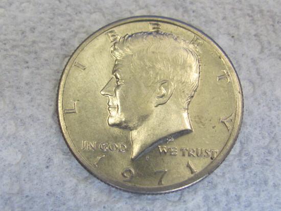 1971-D Kennedy Half Dollar