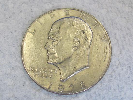 1978-D Eisenhower Dollar