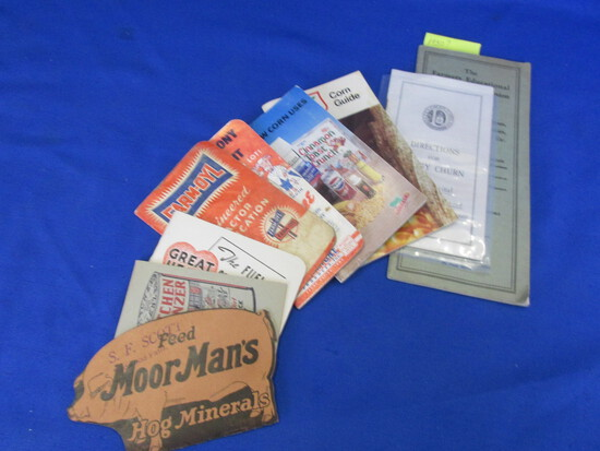 Old Paper/Ephemera lot Farm/Advertising 1930's and later