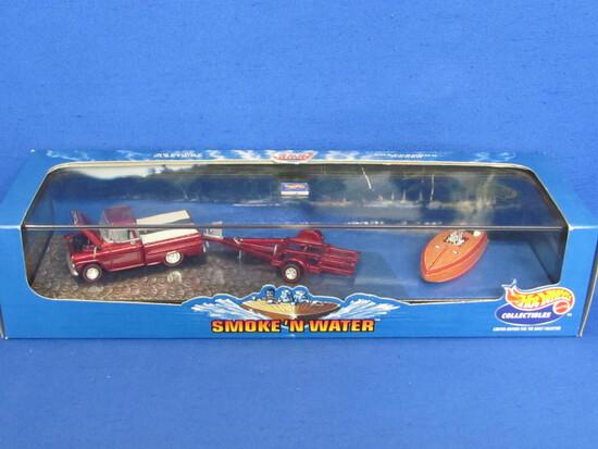 Hot Wheels Cool Classics: Smoke 'N Water – New in Box – 1998