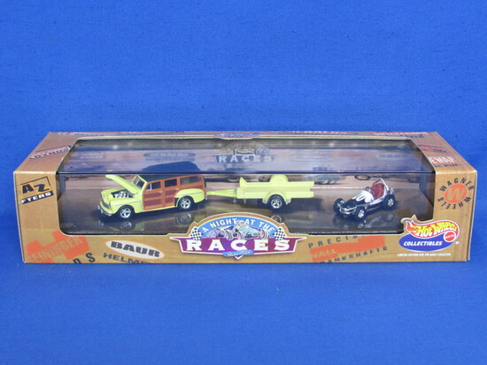 Hot Wheels Cool Classics: A Night at the Races – New in Box – 1999