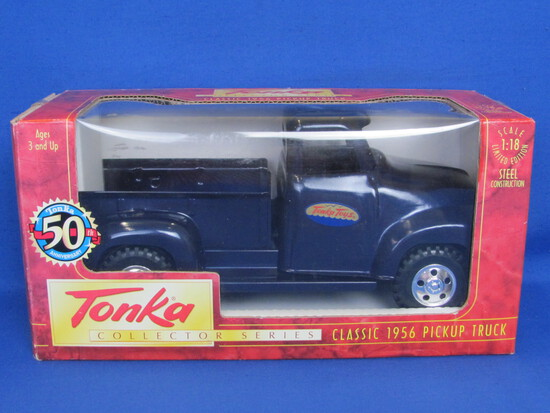 Tonka Collector Series: Classic 1956 Pickup Truck 1:18 Scale – Steel Construction - 1997