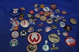 Large Lot of Buttons – Political, Advertising, Red Cross, etc.