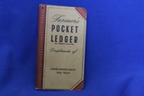 1947/48 Farmer's Pocket Ledger – Cashton Hardware Co, Cashton WI – Good vintage condition