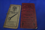 1900 St.Paul Street Railway Directory, 1932/33 Mogul Federal Pocket Notebook – As shown