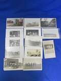 13 Antique Postcards – Horse & Wagon to Case Steam- Roller (Color Litho)