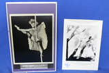 Lot of 2 Vintage Photos – Nude woman, Circus Performer – look like reproductions – As shown