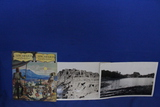 2 Vintage B&W Photos of South Dakota(7x11), 1941 New Mexico Tourism Booklet – As shown