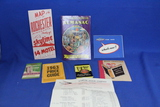 Paper Ephemera Lot – 1940 Almanac, 1955 Chevy Ad, 1963 Chrysler Price Guide, Winona Behrens
