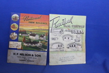 2 Vintage Booklets – 1948 National Farm Buildings, 1944 Practical Small Structures for the Farm