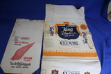 2 Vintage Flour Sacks – Red Wing Special Graham Flour, King Midas Pre-sifted All Purpose Flour -