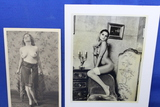 Lot of 2 Vintage Photos – Nude women – look like reproductions – As shown