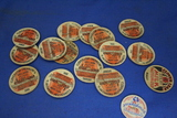 Lot of 16 Vintage Milk Bottle Caps – Clover Leaf Creamery, Mpls. MN – Several styles/sizes