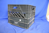 """Lakeside Dairy Sioux Falls, SD Plastic Milk Crate - ~13"""" x 13"""" x 11"""""""