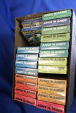 Lot of 22 Amos 'n Andy VHS Tapes – Volume 1 to 22 – All still factory sealed