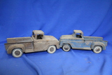 "Lot of 2 Vintage Tonka Toys Pressed Steel Trucks – Rusty - ~13""L – As shown"
