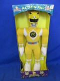 "Mighty Morphin Power Rangers Plush Toy ""Action Pal""  NIB – Yellow"